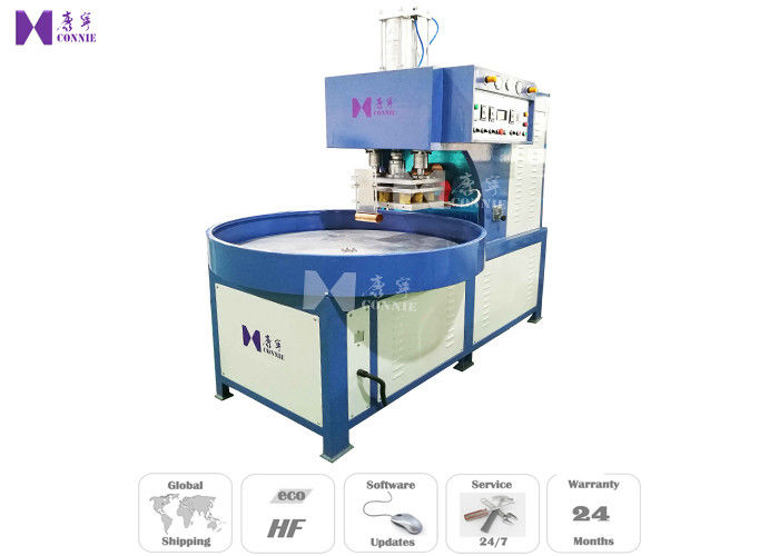 5M / Min High Frequency Blister Packing Machine 12Kw For Bath Shower Faucet