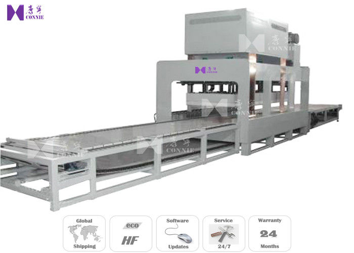 Floor Panel HF Industrial Laminating Machine 75KW 36T With Cycle Stabilizer