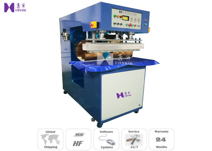 27.12MHZ Canvas Tarpaulin Heat Sealing Machine 10KW For Making Architecture Membrane Structure