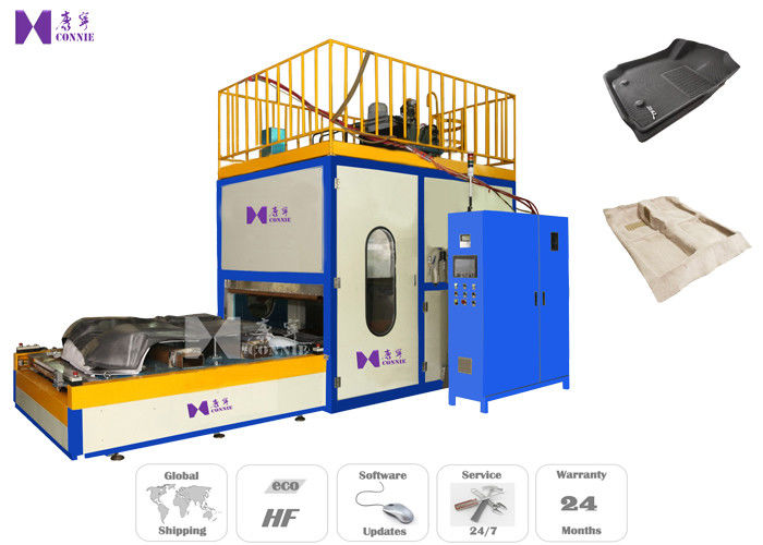 High Frequency Car Mat Welding Machine 650×500 MM Welded Area 1.5T Max Pressure