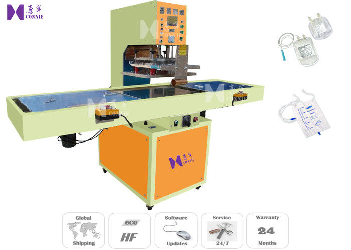 PU Medical Bag Automatic Welding Machine Slide Table Style Pneumatic Drive Mode