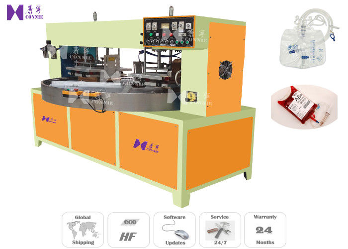 High Frequency Medical Pouch Making Machine 2100×2600 MM Welded Area With Anti - Flash System