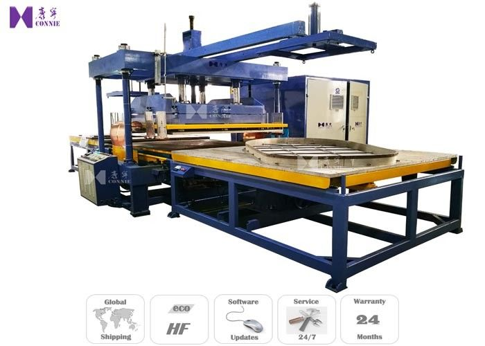 50Kw Two Slide Tables Inflatable Welding Machine For Inflatable Suana Bed