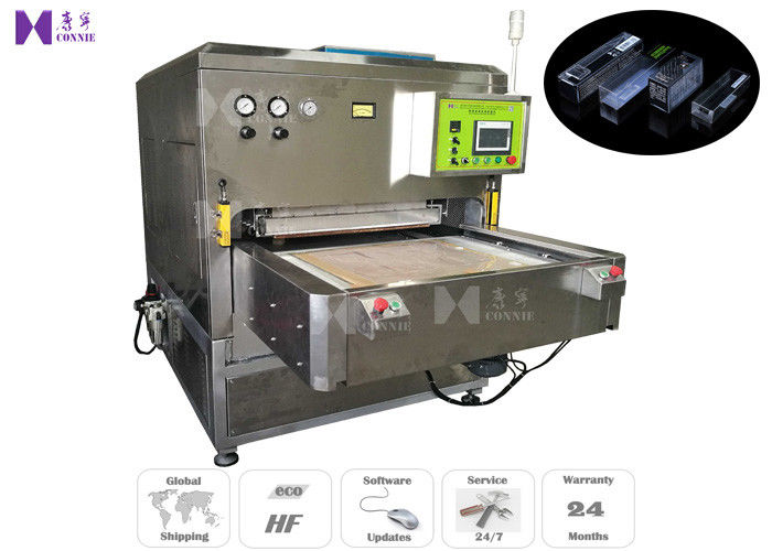 Soft Crease PVC Box Making Machine with Auto Slide Table ,  600times/H