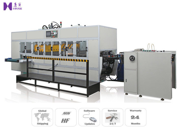 High Frequency Automated Box Folding Machine Auto Feeding System